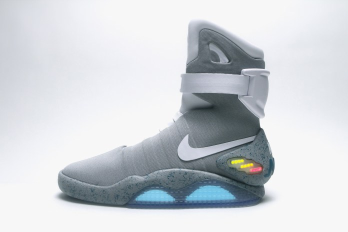 A Pair of Nike MAGs Sold for Over $100,000 USD at Auction