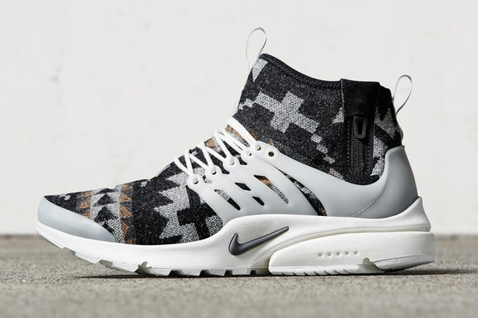 The Nike Presto Utility Gets a Pendleton Fabric Makeover