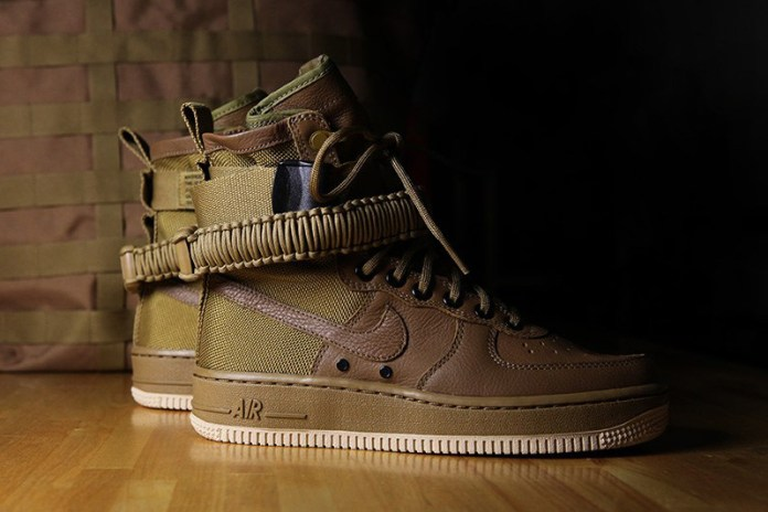 "A Closer Look at the Nike SF AF-1 ""Hazelnut"""
