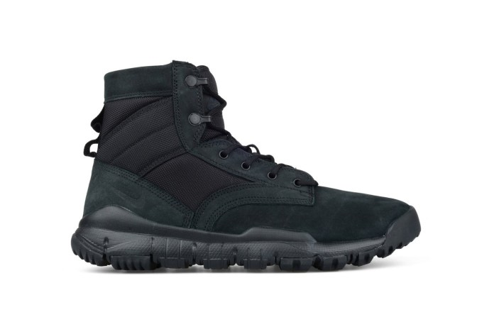 "Nike's SFB 6"" Leather Boot Is Back in Black"
