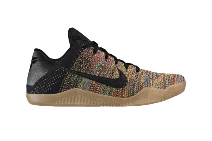 NIKEiD Offers Multicolored Flyknit for the Kobe 11