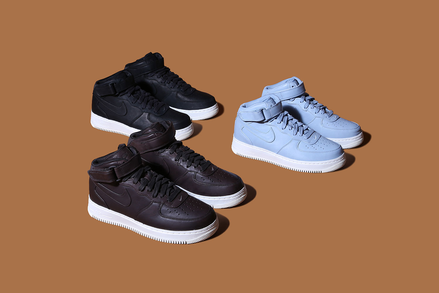 NikeLab Drops a Trio of New Air Force 1 Colorways