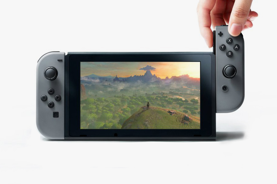 The Nintendo Switch Has Been Officially Unveiled
