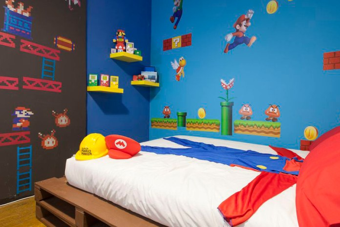 Step Inside the Nintendo-Themed Airbnb Rental Where Super Mario Is King