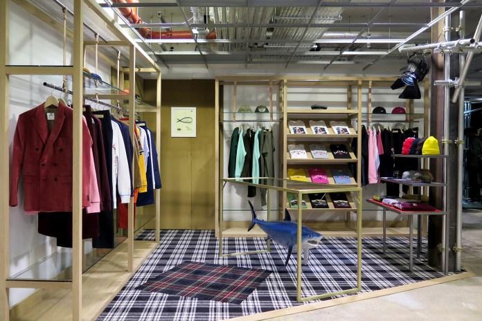 Noah Sets up Shop Inside Dover Street Market London