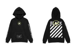 """OFF-WHITE & fragment design Team up for Exclusive """"FLUO"""" Collection"""