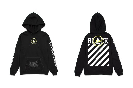 "OFF-WHITE & fragment design Team up for Exclusive ""FLUO"" Collection"