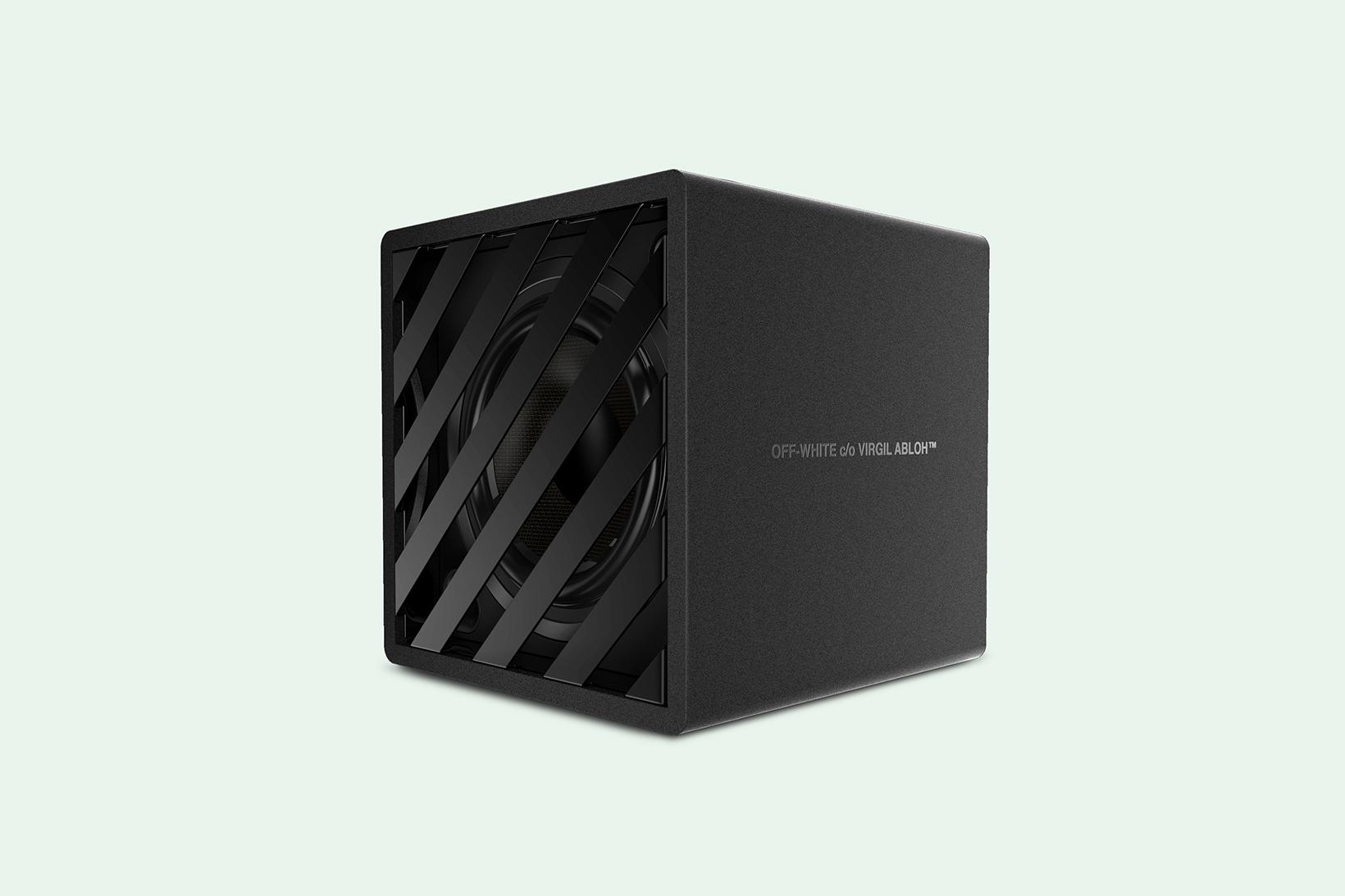 OFF WHITE Speaker Concept