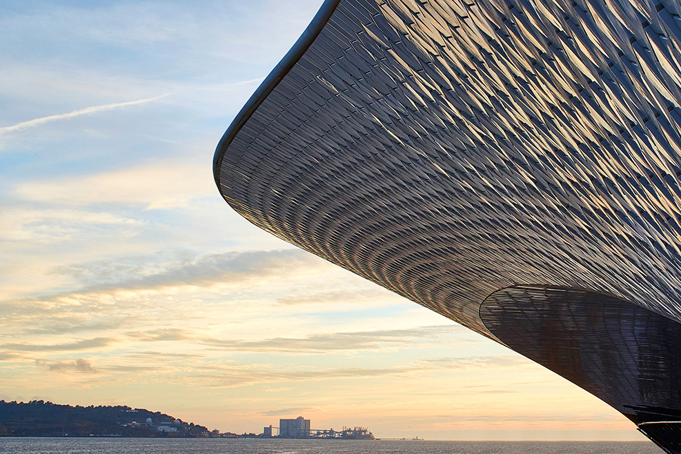 The Doors Open to Lisbon's Shiny New Museum of Art, Architecture and Technology