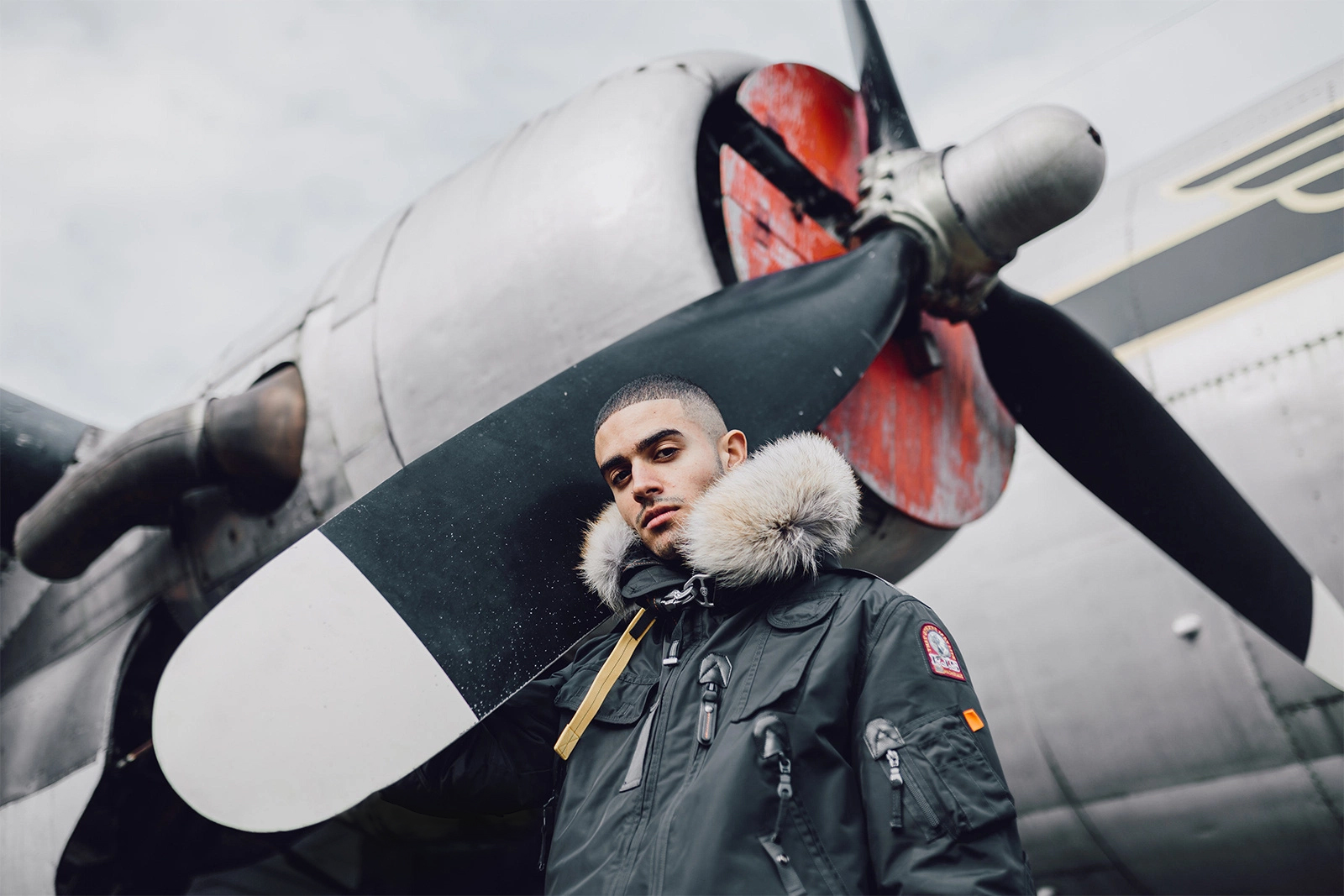 Parajumpers Heads to an Airfield to Showcase Military-Inspired Looks for 2016 Fall/Winter