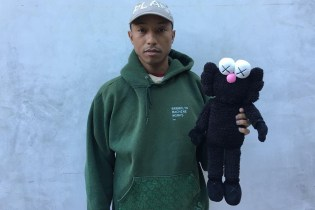Pharrell Takes to Instagram to Show off New KAWS BFF Colorway