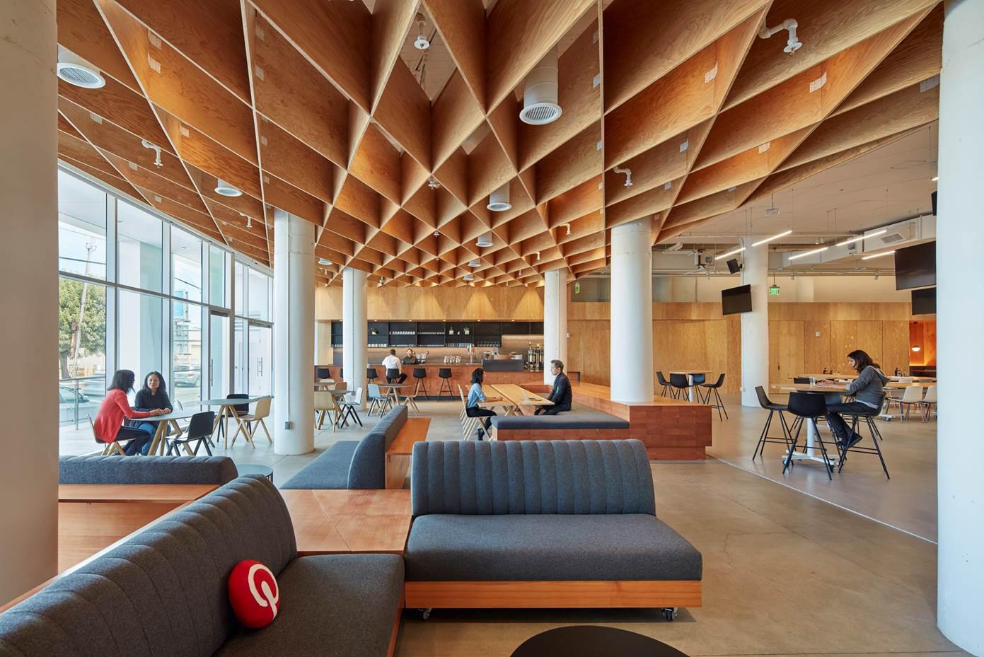 Pinterest 39 s new architectural headquarters in san francisco hypebeast Interior design companies in san francisco