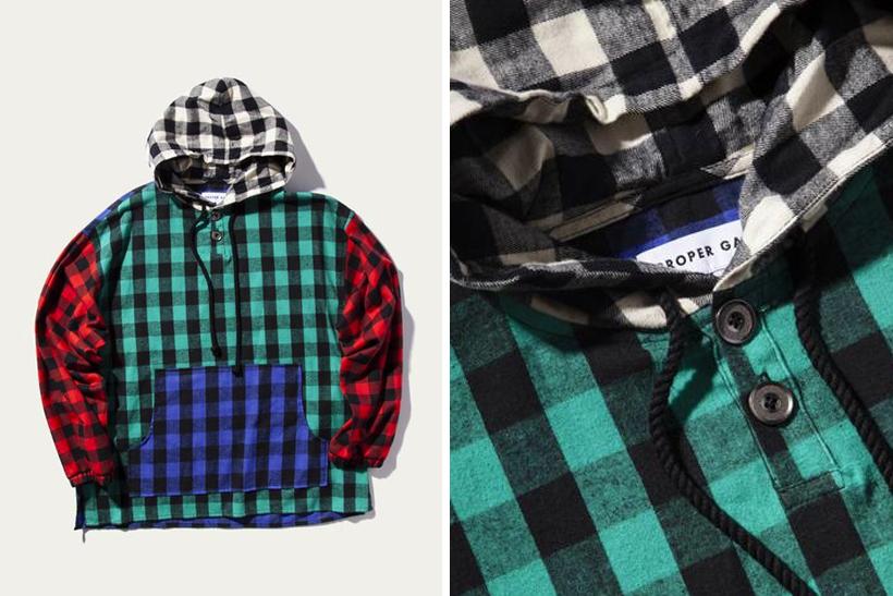 Proper Gang's Patchy Pullover Anorak Shirt Looks Like Teen Spirit