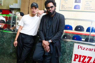 Public School and New Era Celebrate Their Collaboration With Pizza