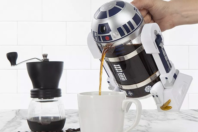 Here's a R2-D2 Coffee Press for All 'Star Wars' Fans