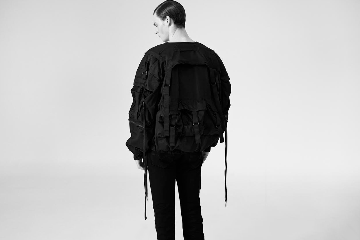 """A Few Raf Simons Archive Pieces Like the 2003 """"Consumed"""" Bomber Are Available at The Salvages"""