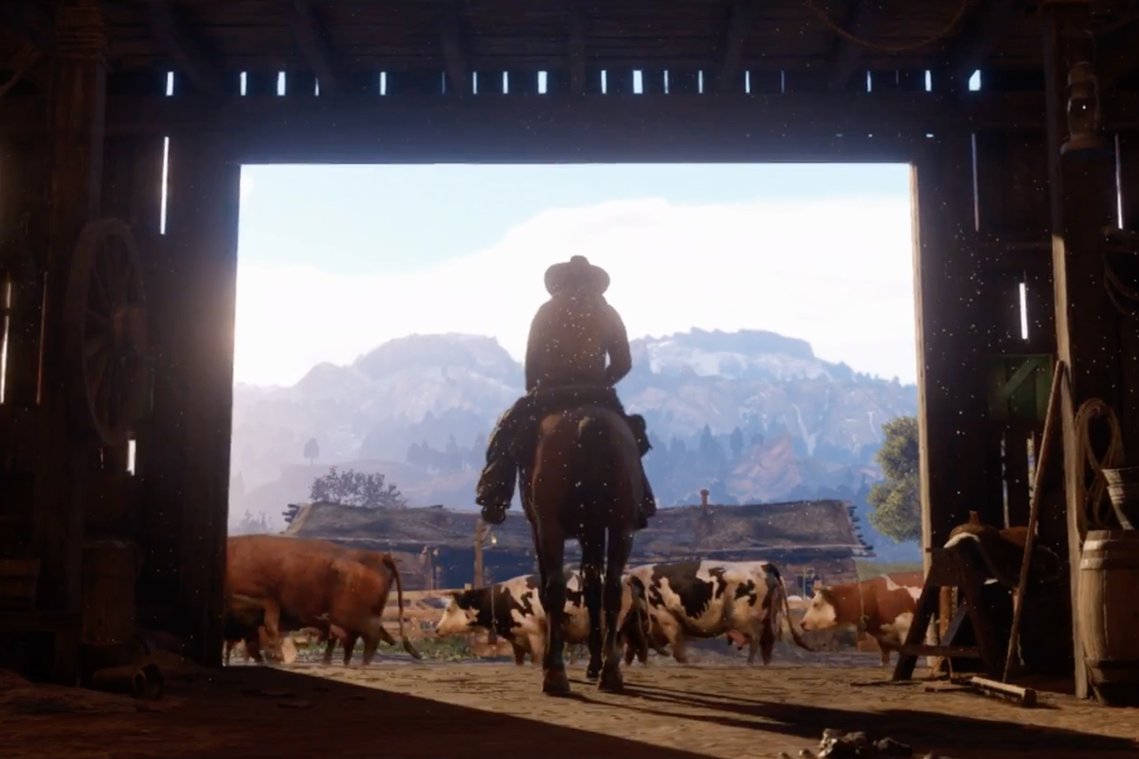 Rockstar Drops the First Teaser Trailer for 'Red Dead Redemption 2'