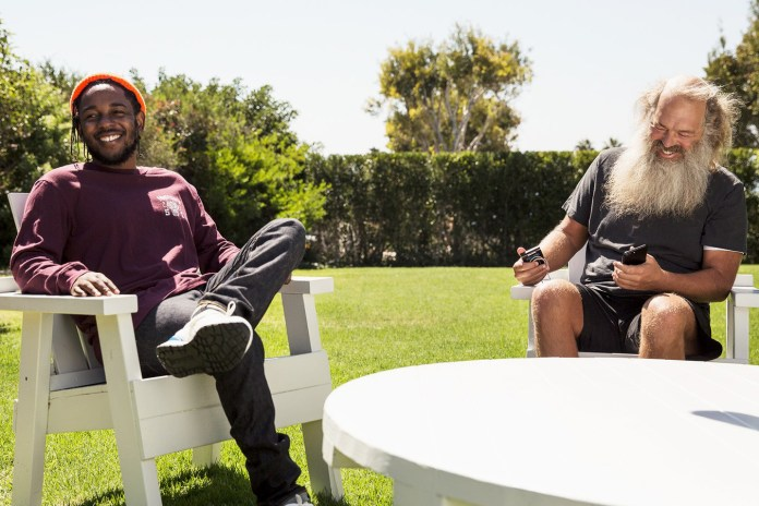 Rick Rubin and Kendrick Lamar Share Some Deep Thoughts in New 'GQ Style' Interview