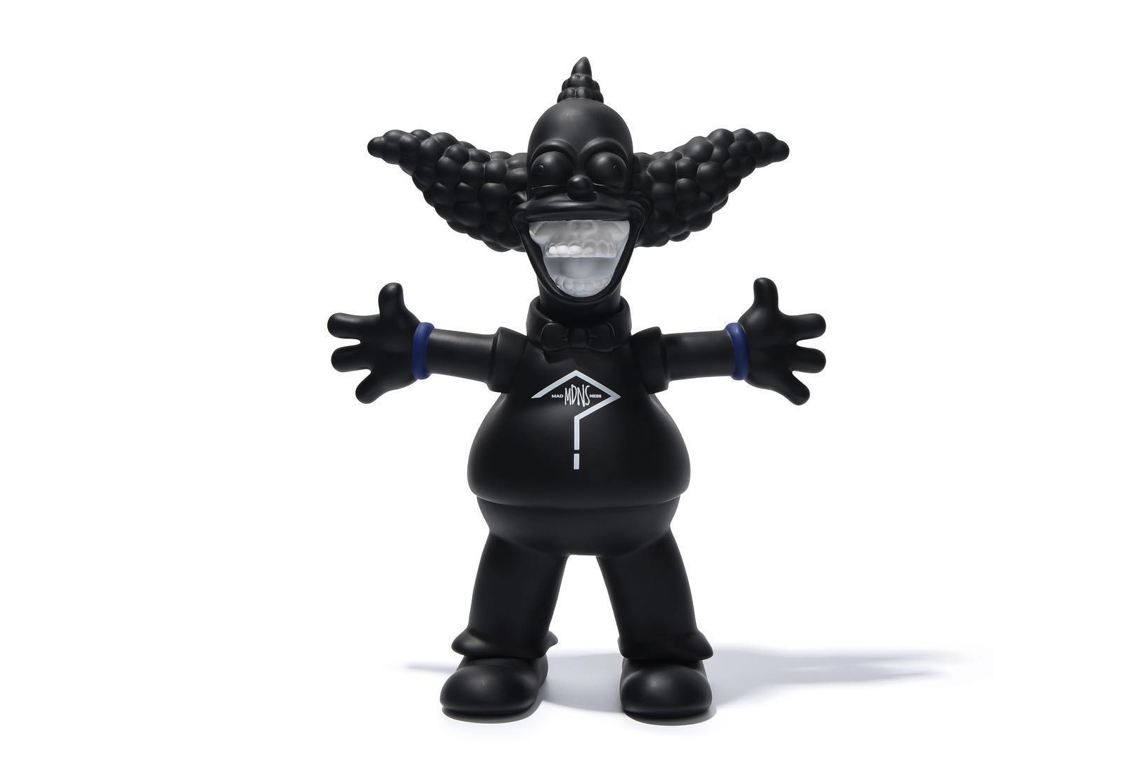 "A Murdered-Out Krusty the Clown Is Next up in Ron English's Coveted ""Grin"" Series"