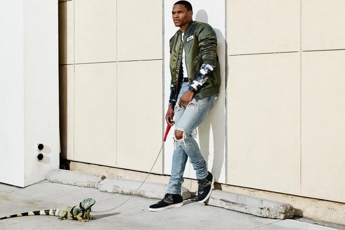 Russell Westbrook and His Pet Lizard Star in Lookbook for New Lifestyle Jordan Range