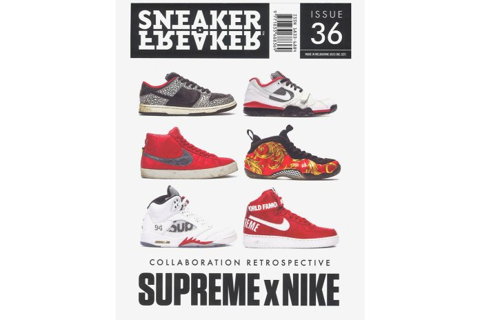Sneaker Freaker's 36th Issue Is Its Biggest One Yet