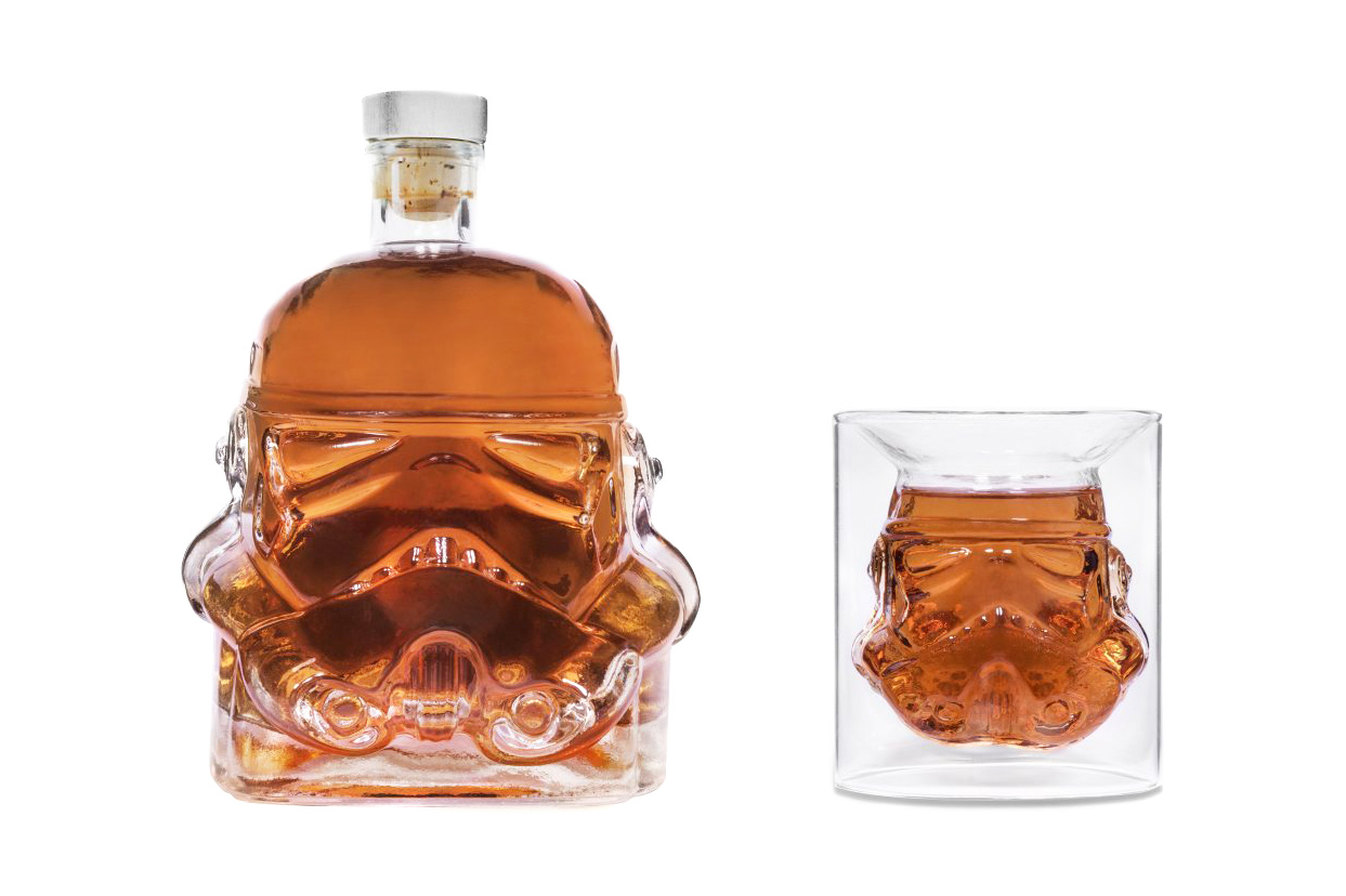 The 'Star Wars' Stormtrooper Decanter and Shot Glass Will Let You Toast to the Dark Side