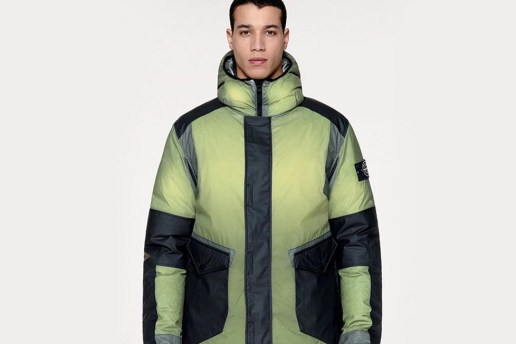 Stone Island's Ice Jacket Changes Color According to the Temperature