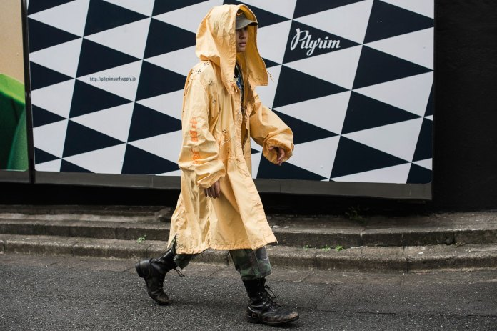 Oversized Fits Reign Supreme at Tokyo Fashion Week