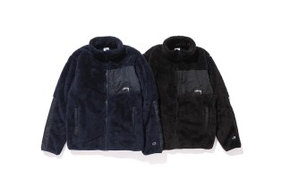 Stüssy & Champion Return With More Fleece for 2016 Fall/Winter