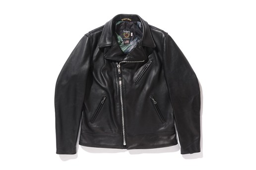 Stüssy Takes On the Schott Motorcycle Jacket