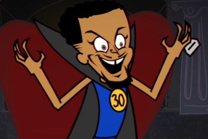 "Steph Curry Helps the Warriors ""Embrace"" Villainy in 'Superteam: A Warriors Musical'"