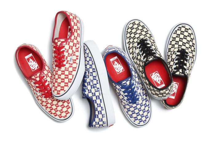 Supreme x Vans 2016 Fall Collection