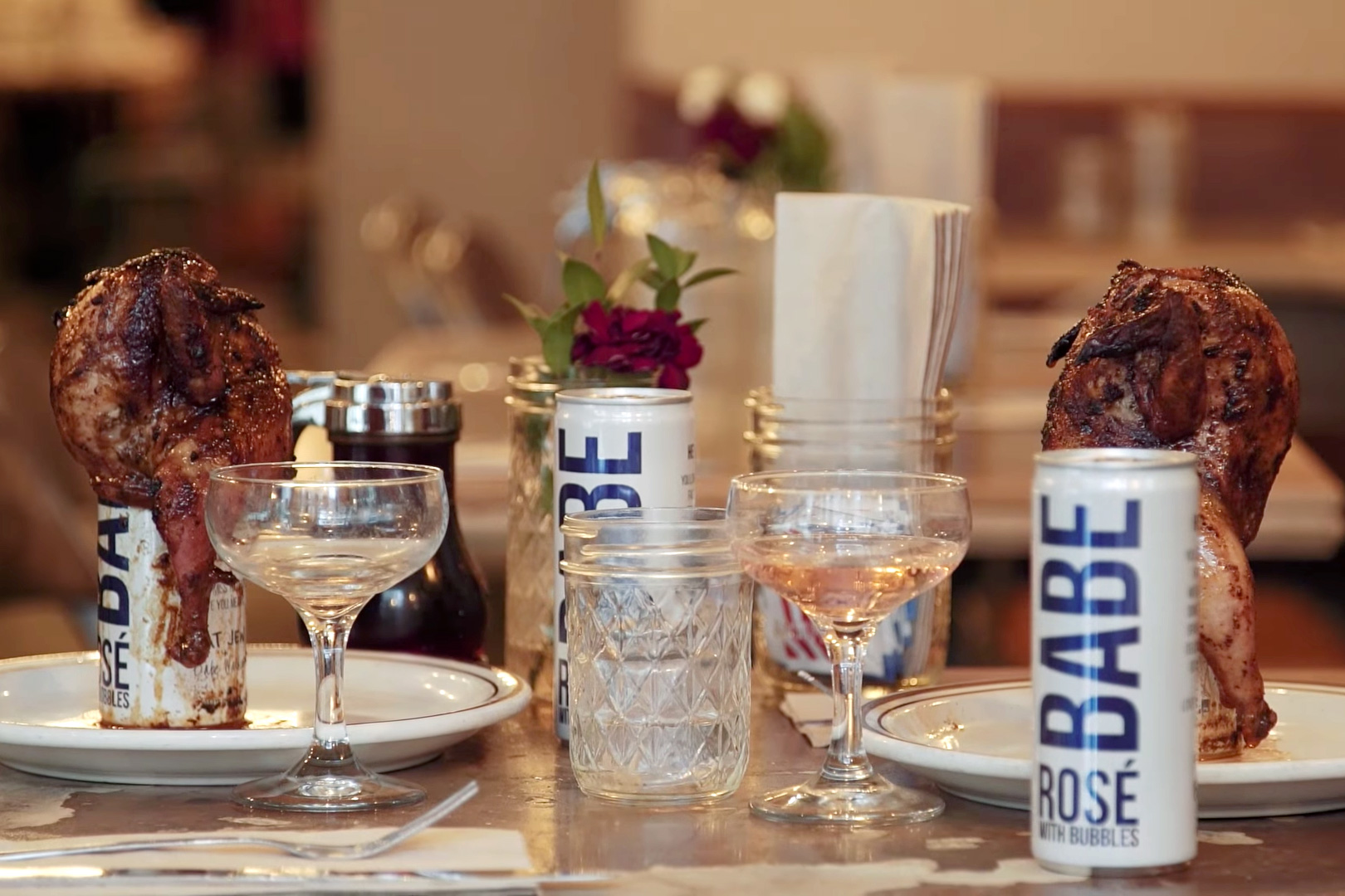 EATS: Rosé Poussin With Sweetchick NYC and The Fat Jew