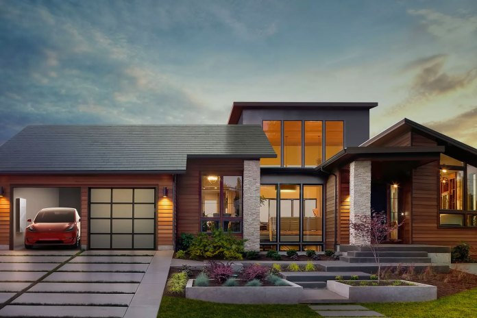Tesla is Building a Line of Solar Panels