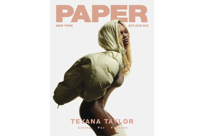 "Teyana Taylor Covers 'PAPER' Magazine's ""Living For Fashion"" Issue"