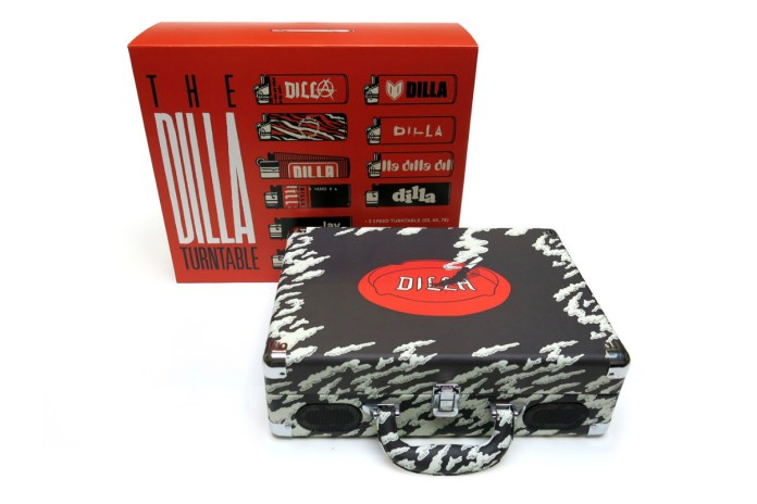 "J Dilla's Estate to Release This Exclusive ""Dilla Turntable"""