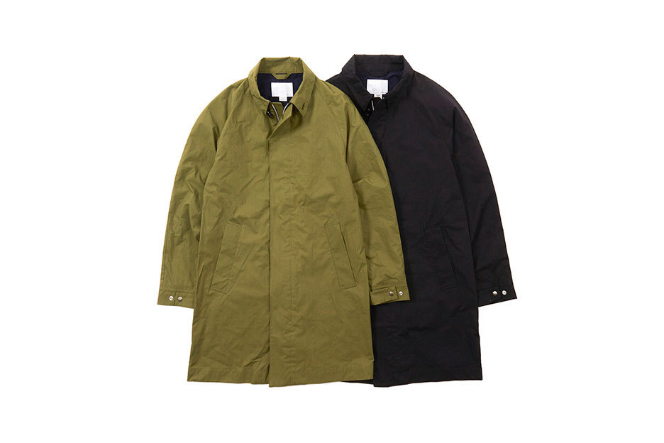 THE NORTH FACE PURPLE LABEL x nanamica Release Rugged Outerwear for 2016 Fall/Winter