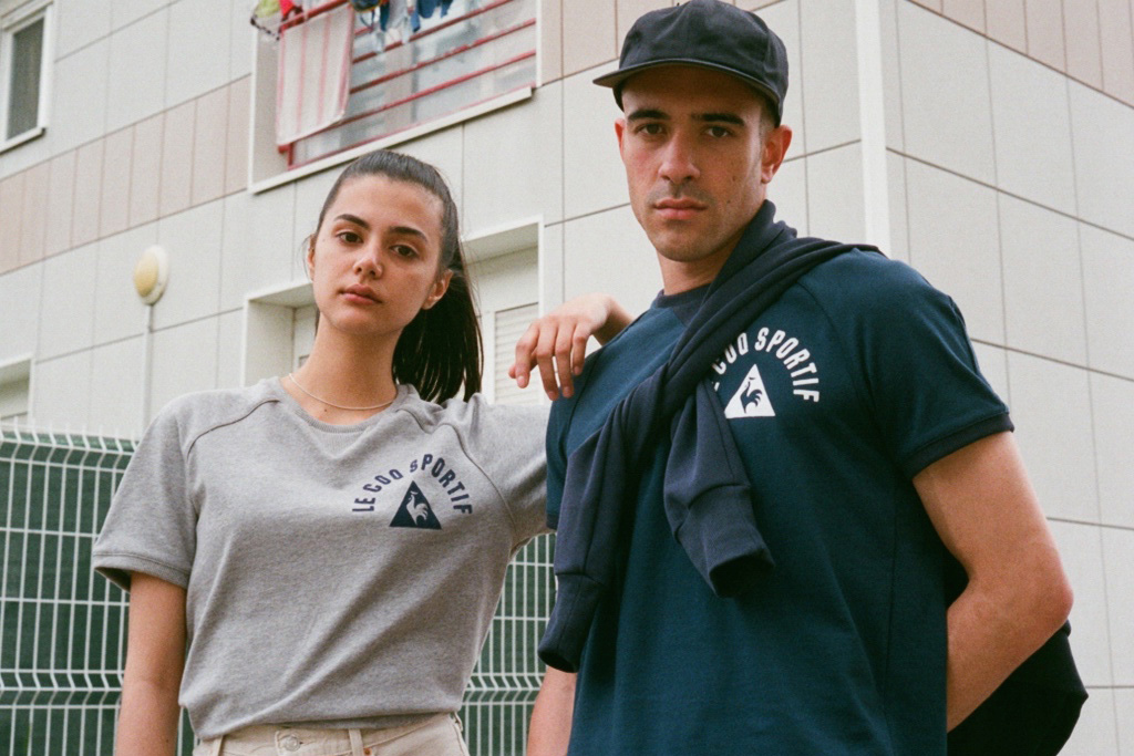 """Le Coq Sportif's """"Molton Superieur"""" Collection Is Shot by The Rig Out"""