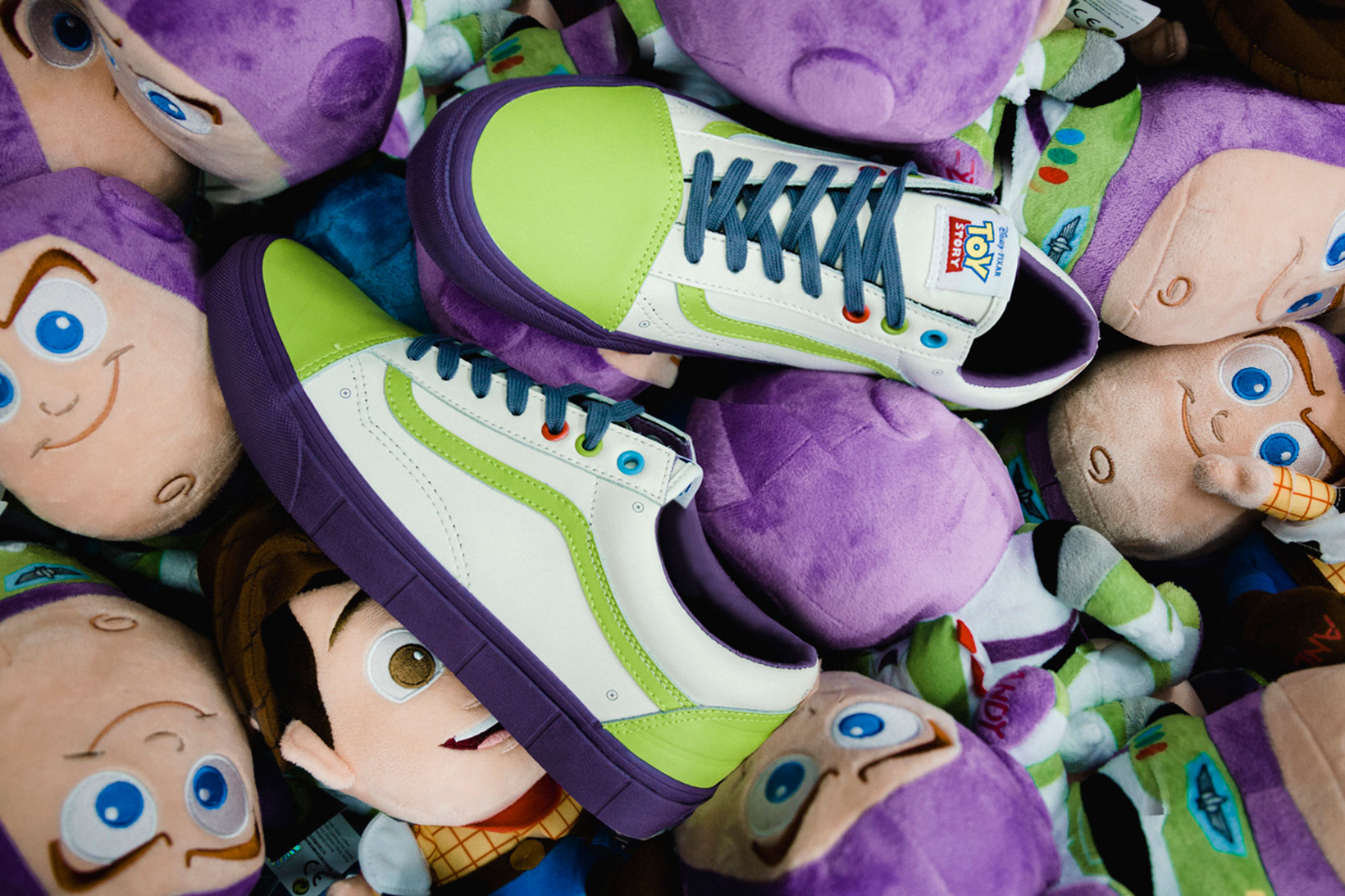 A Closer Look at the 'Toy Story' x Vans Footwear Collection
