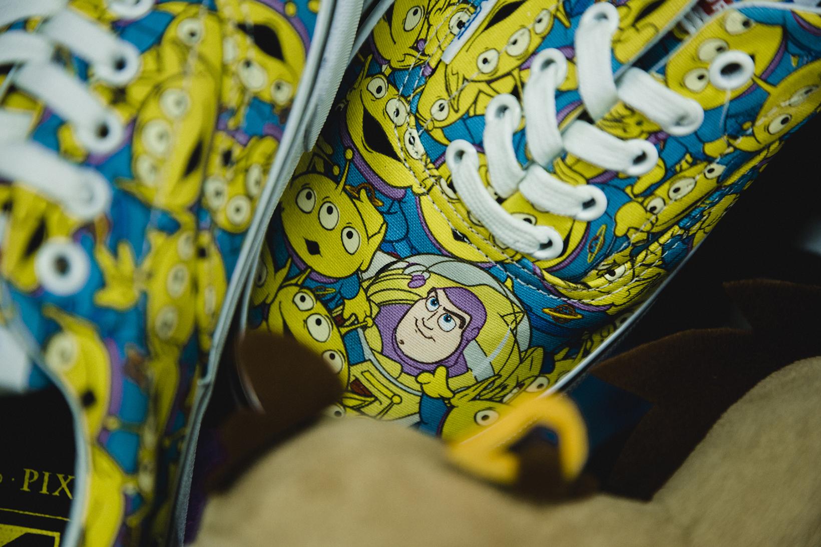 Toy Story Vans Sneakers Woody Buzz Lightyear Disney - 1765025