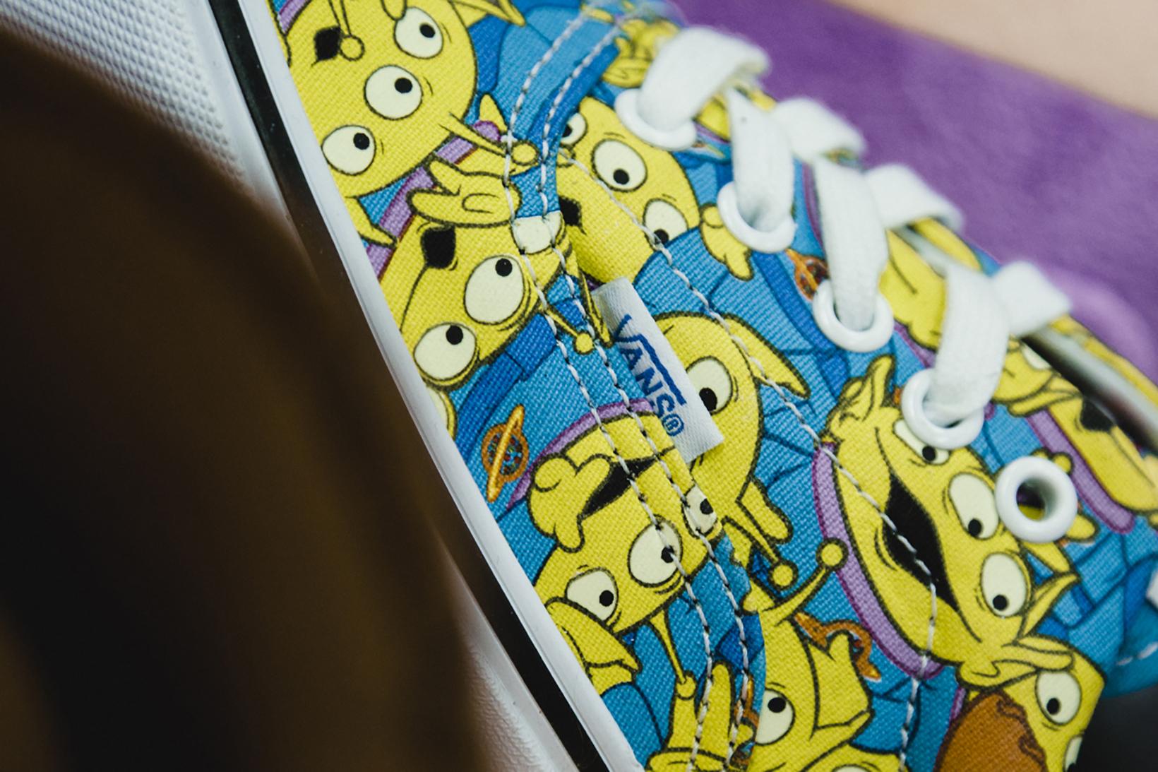Toy Story Vans Sneakers Woody Buzz Lightyear Disney - 1765026