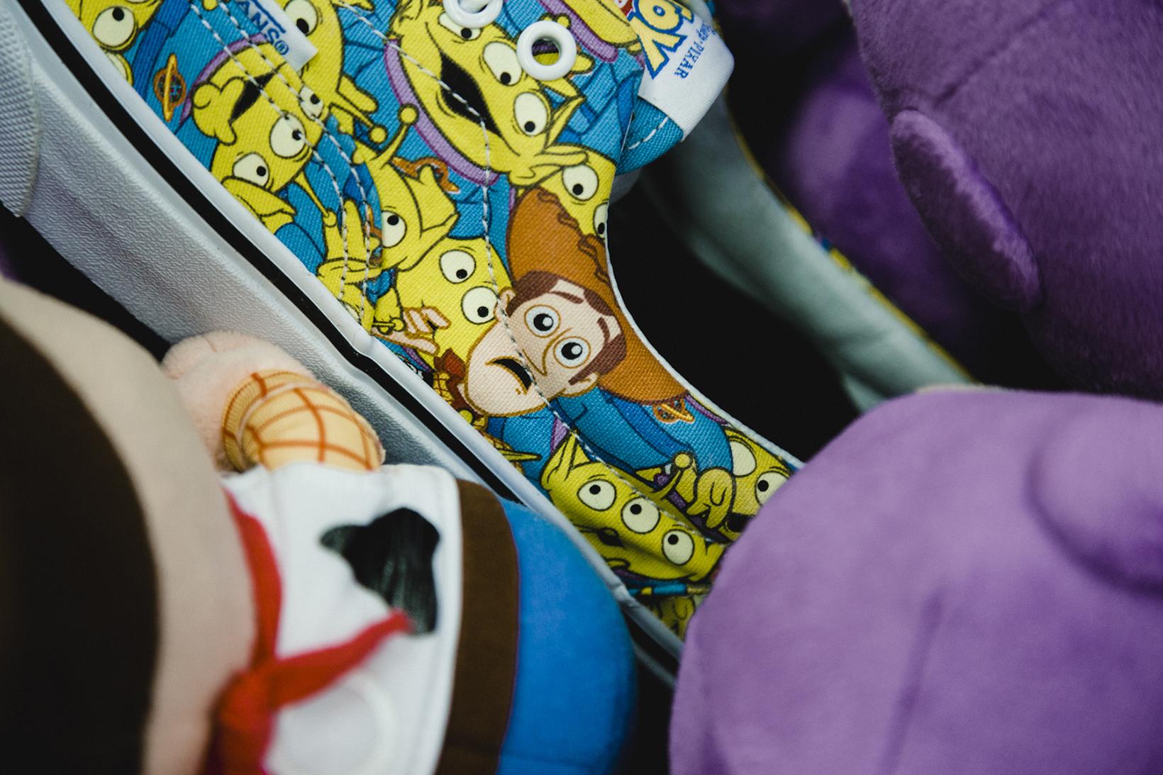 Toy Story Vans Sneakers Woody Buzz Lightyear Disney - 1765023