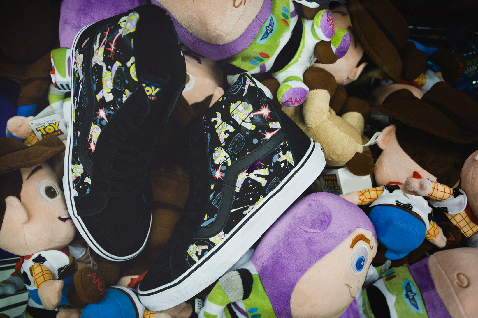 Toy Story Vans Sneakers Woody Buzz Lightyear Disney - 1765041