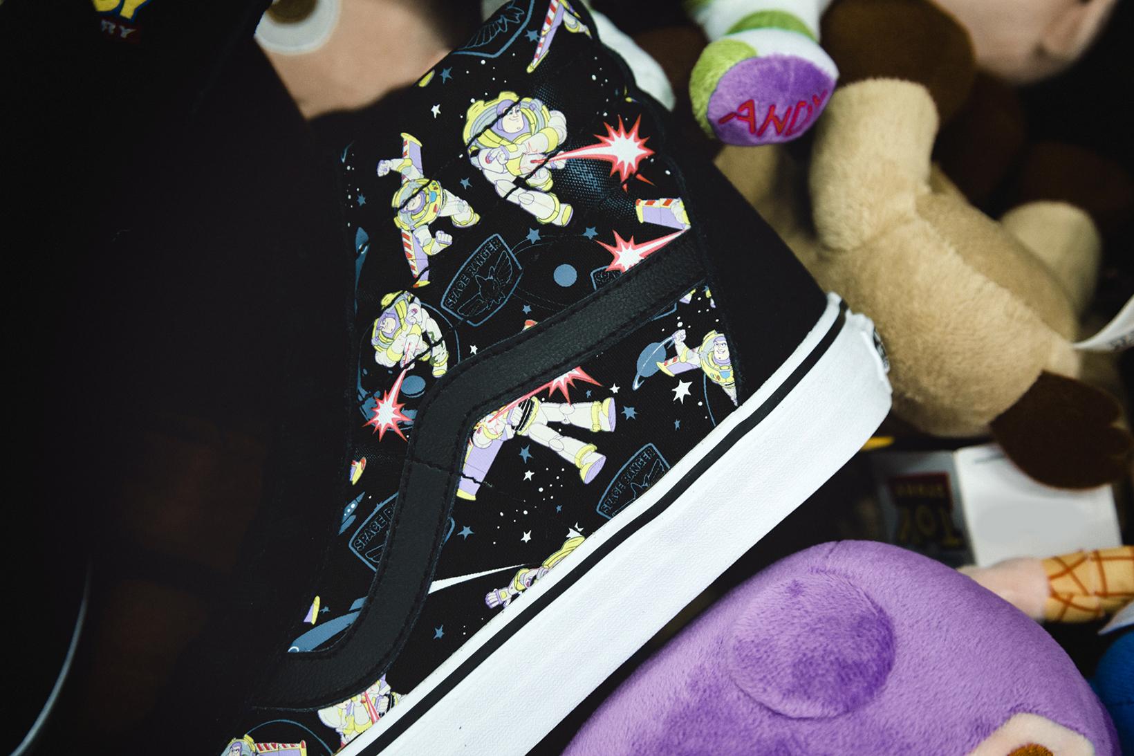 Toy Story Vans Sneakers Woody Buzz Lightyear Disney - 1765042