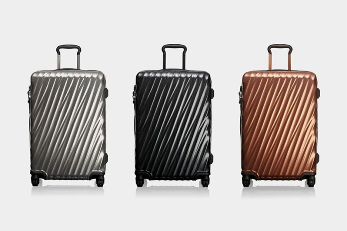 Tumi Gives Its Luggage a 19 Degree Twist