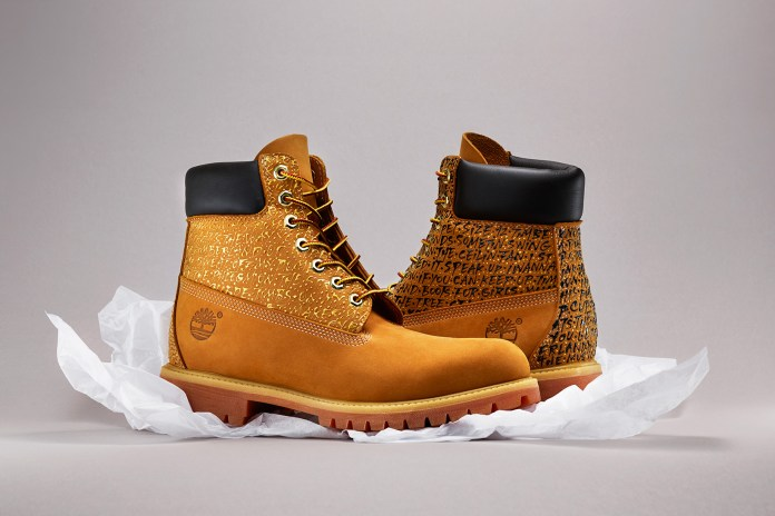 TYRSA Leaves His Mark on a Pair of Timberland Boots Paying Homage to Nas