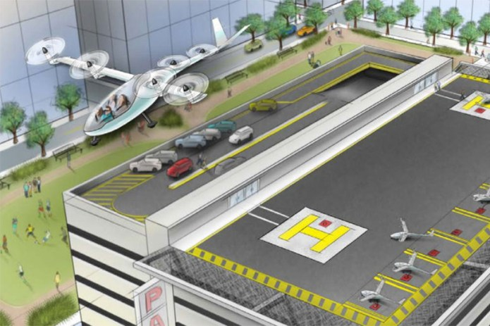 Uber Outlines Its Lofty Ambitions for a Fleet of Flying Cars