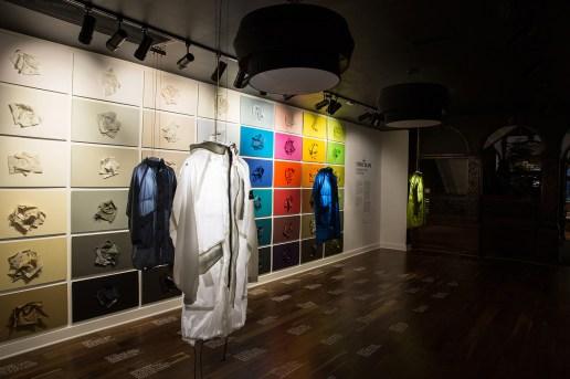 UBIQ x Stone Island 'A Presentation of Garment Dyed Expertise' Installation