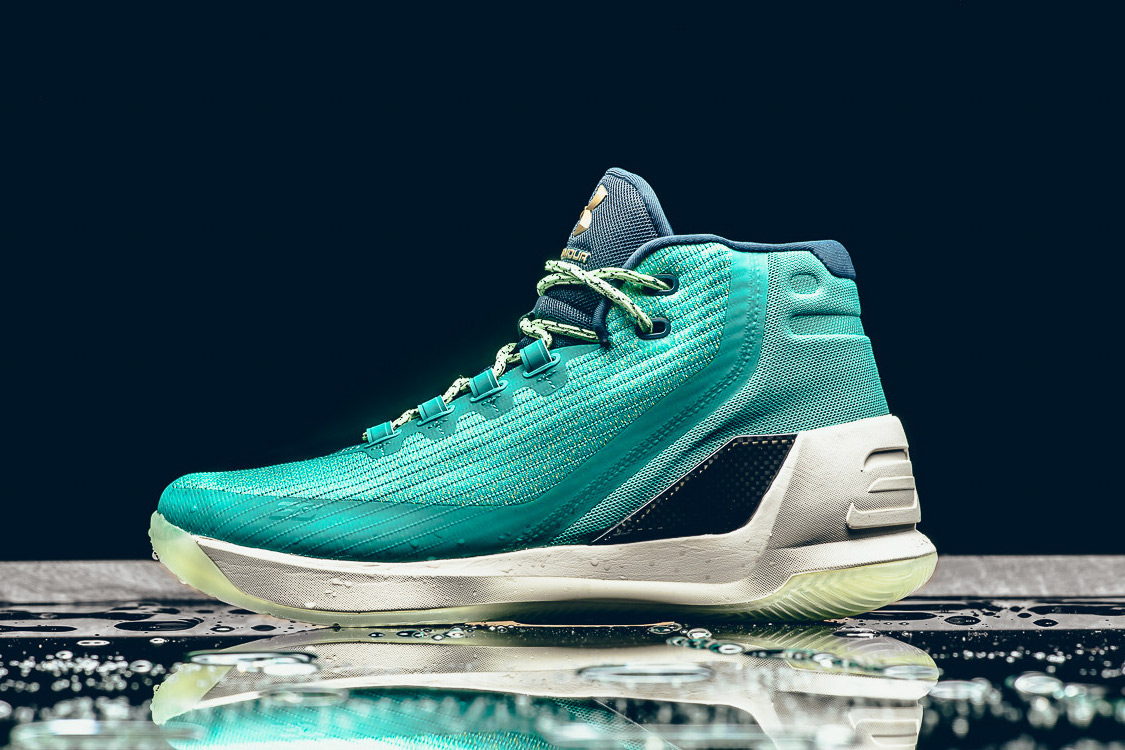 This Under Armour Curry 3 Colorway Pays Homage to Steph's Slick Jumpshot