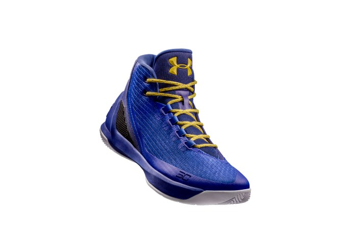 Under Armour Officially Unveils the Curry 3